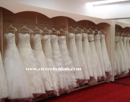 Make To Measure High Grade Excellent Handwork Wedding Dress With Imported F