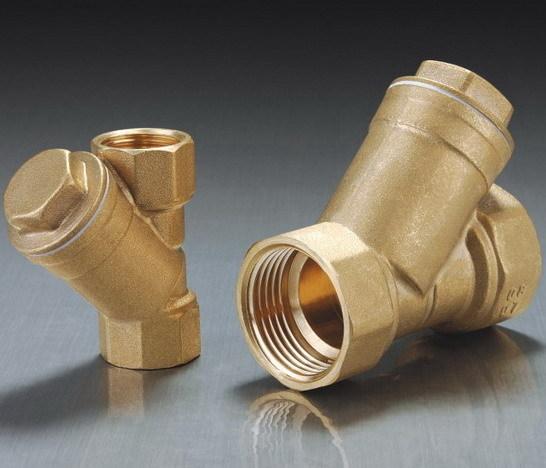 Male Thread Brass Strainer Filter Custom Made
