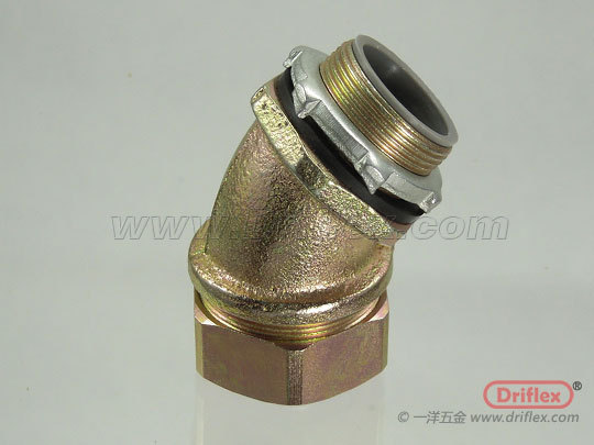 Malleable Iron 45d Angle Connector A Competitive Price