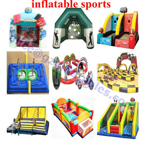 Manufacturing Inflatable Bouncer Slide Castle Obstacle Soccer Field Pool Wa