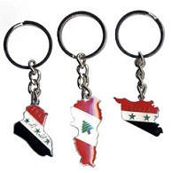 Map Keychains For Gifts