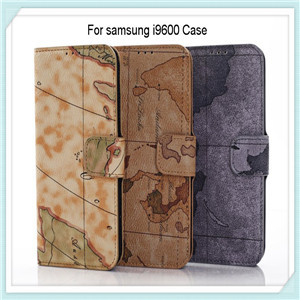 Map Style Leather Case For Samsung Galaxy S5
