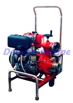 Marine Diesel Emergency Fire Pump Quickly Started Volume