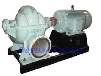 Marine Double Suction Mid Open Horizontal Centrifugal Pump