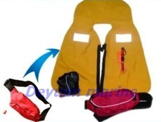 Marine Inflatable Life Jacket
