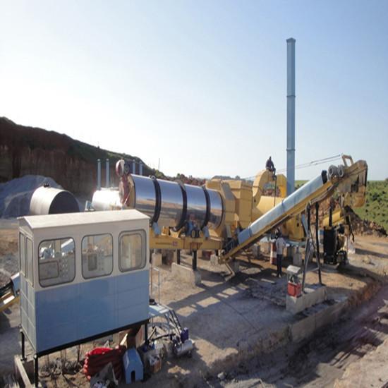 Mb2000 160tphmobile Asphalt Plant