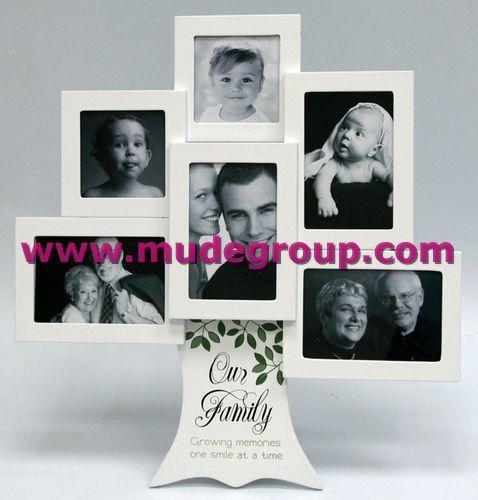 Mdf Tree Like Family Photo Frame