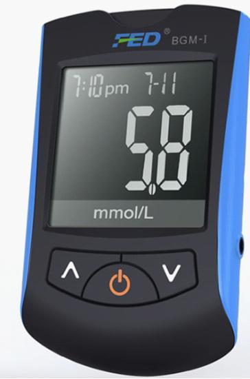 Medical Blood Glucose Meter Bgm System