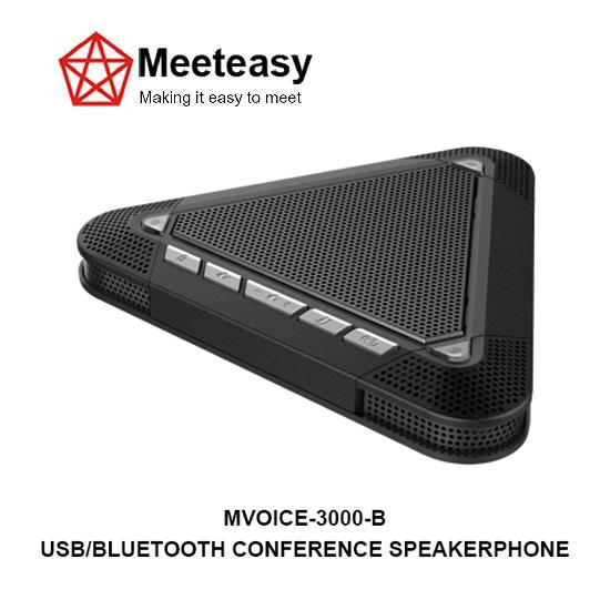 Meeteasy Mvoice 3000 B Usb Bluetooth Conference Speakerphone Microphone Spe