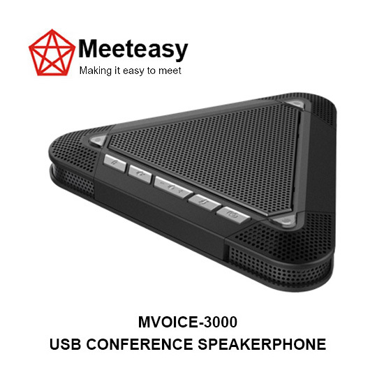 Meeteasy Mvoice 3000 Usb Conference Speakerphone Microphone Speaker