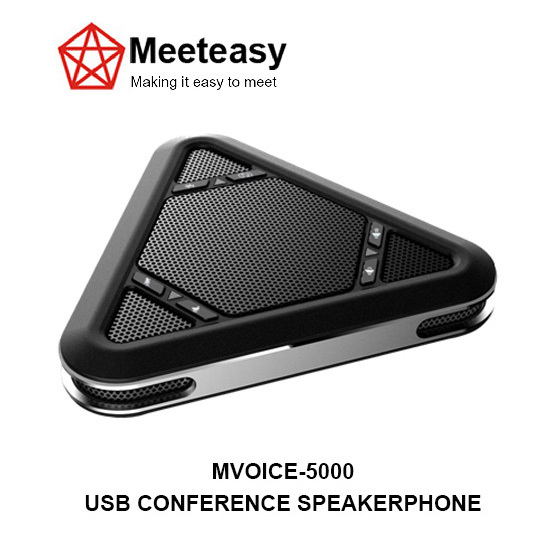 Meeteasy Mvoice 5000 Usb Conference Microphone Speaker