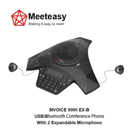 Meeteasy Mvoice 9000 Ex B Usb Bluetooth Conference Phone