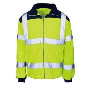 Men High Vis Reflective Fleece Safety Jacket 2015hvf02