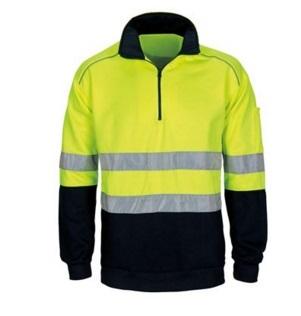 Men High Vis Reflective Fleece Safety Jacket 2015hvf03