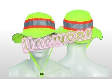 Men High Vis Reflective Safety Hat 2015hvh03