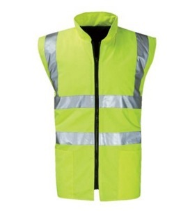 Men High Vis Reflective Safety Vest 2015hvv01