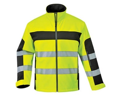 Men High Vis Reflective Softshell Safety Jacket 2015hvs01