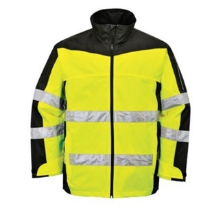 Men High Vis Reflective Softshell Safety Jacket 2015hvs03