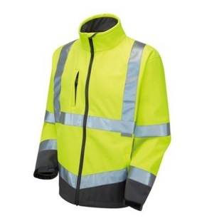 Men High Vis Reflective Softshell Safety Jacket 2015hvs04