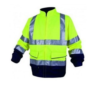 Men High Vis Waterproof Reflective Safety Jacket2015hvj01