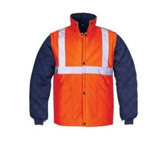 Men High Vis Waterproof Reflective Safety Jacket2015hvj05