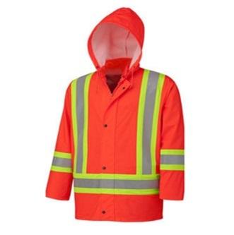 Men High Vis Waterproof Reflective Safety Jacket2015hvj06
