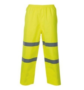 Men High Vis Waterproof Reflective Safety Pants 2015hvp01