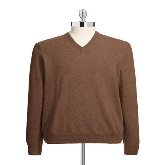 Men V Neck 100 Cashmere Sweaters