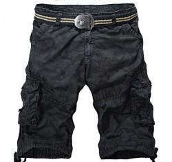 Mens Cotton Cargo Shorts