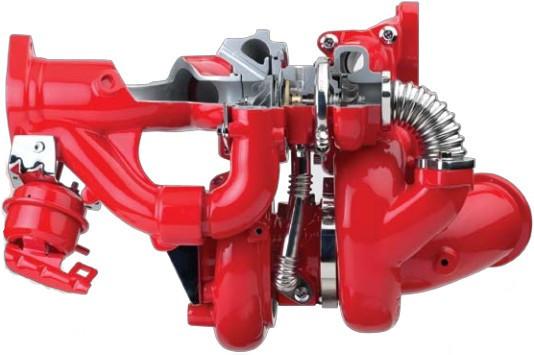 Mercedes Om501la Engine Turbocharger S400