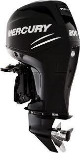 Mercury 200l Verado Outboard Motor Four Stroke 4 Cyl