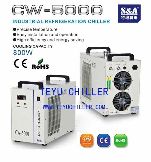 Metal Cutting Machine Water Chiller Cw 5000