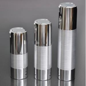 Metal Felling Airless Twist Up Bottle Pump Serum
