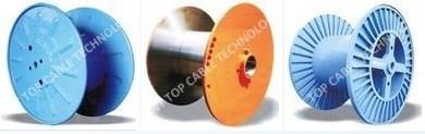 Metal Flange Process Bobbin Flat High Speed Corrugated