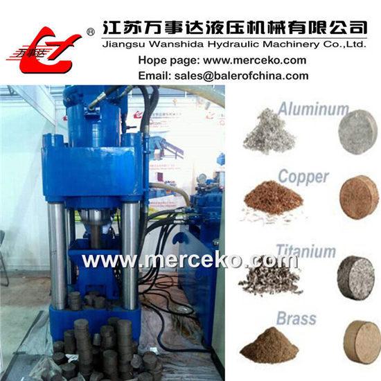 Metal Sawdust Briquetting Press Y83 500