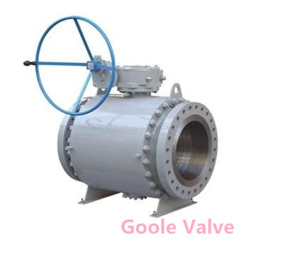 Metal Seated Fixed Ball Valve
