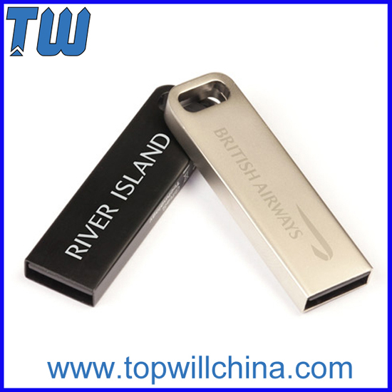 Metal Slim Rectangle Oem Usb 3 0 Flash Drives With Free Logo Printing