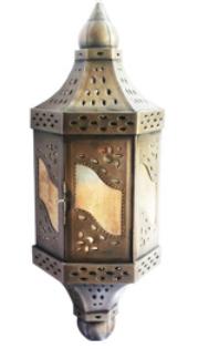 Mexican Tin Lantern Bonita Tl 1a