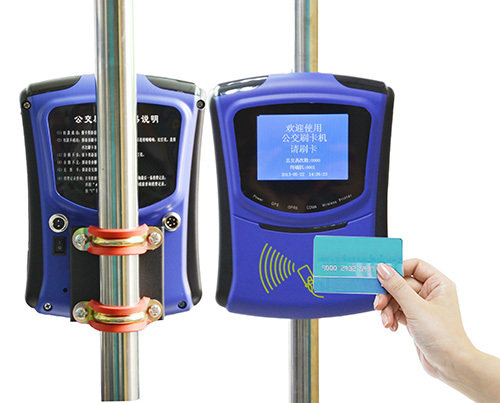 Mifare Card Reader For Bus Fare Collection With Gprs