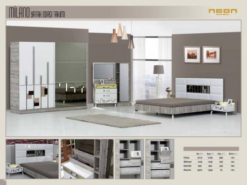 Milano Bedroom Sets Home Furniture