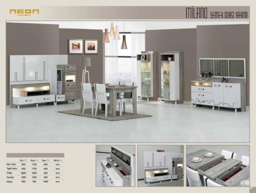 Milano Dining Room Set Home Furniture