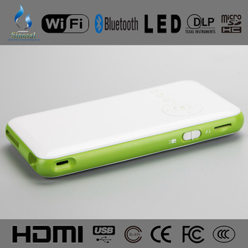 Mini Android 4 Portable Pico Led Projector Sino M6 For Smartphones