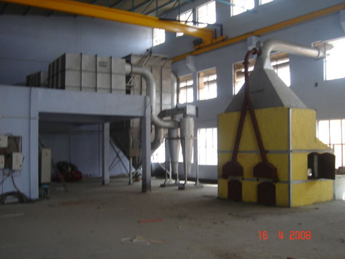 Mini Blast Furnace With Air Pollution Control Deivce