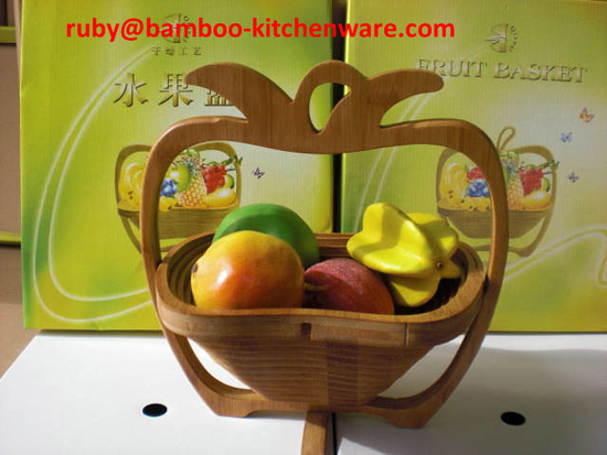 Mini Drawing Empty Bamboo Wooden Pineapple Foldable Collapsible Fruit And E