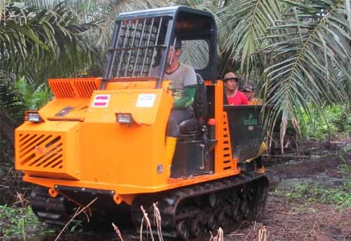 Mini Dumper Palm Oil Planation