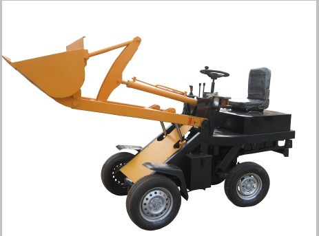Mini Electric Wheel Loader With Hydraulic Operation And Simple Structure Ba