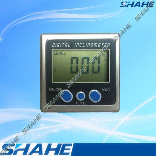 Mini Pro360 Digital Angle Bevel Box Protractor Inclinometer
