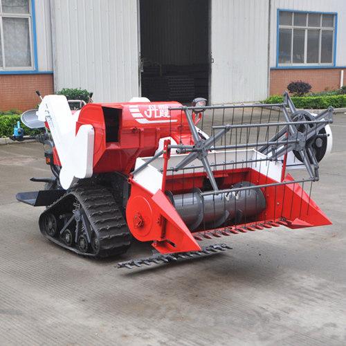 Mini Rice Wheat Combine Harvester