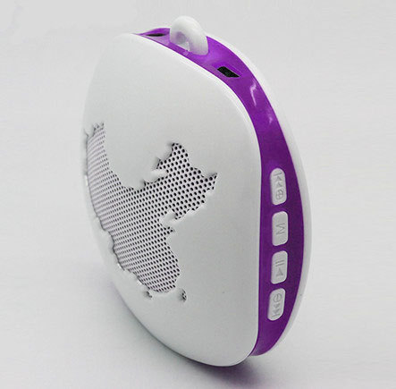 Mini Speaker With 380mah Rechargeable Battery