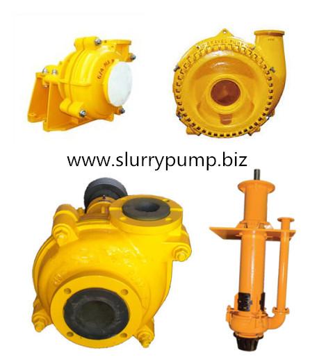 Mining Ash Solid Slurry Sludge Pump